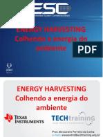 Alessandro Cunha - Energy Harversting - ESC Brazil 2013