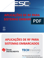 Alessandro Cunha - RF Para Sistemas Embarcados - ESC Brazil 2013