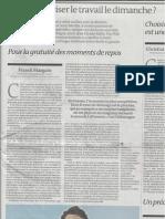 Tribune FM Le Monde 3-10-2013