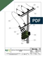 RA2-026 Transformador Tipo Pedestal