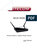 Full Manual WLM 4550 English