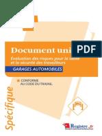 m031-Doc Unique Evaluation Des Risques - Garagistes Extrait