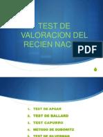 Test de Valoracion Del Rn (Emilio) Oct 2013