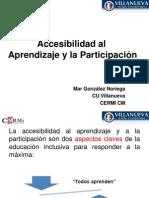 Accesibilidad al aprendizaje y la participación - Mar González.pdf