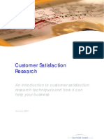 7218866 Customer Satisfaction Research
