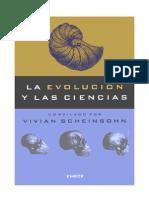 La Evolucion Y Las Ciencias_REHA