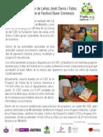 Fundación Taller de Letras en Festival Buen Comienzo