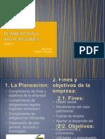 Temas de Planeacion y Aplicaciones