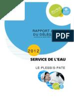 Rapport Lyonnaise 2012 LE PLESSIS PATE