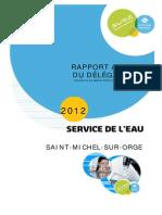 Rapport Lyonnaise 2012 Saint Michel Sur Orge