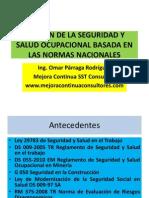 Gestion de La Seguridad y Salud Ocupacional en Las Normas Nacionales_JINZHAO MINING