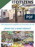 Presentación de #SmarticitizenCC en el encuentro iberoamericano #InnovaciónCiudadana