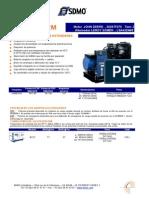 40kw Generador Diesel j40uc2m (Espanol)
