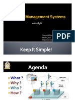 Content Management Systems - An Insight