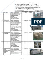 20131011 Extruded 3D Pellet Machinery Model LT100