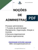 NOÇÕES DE ADMII_AULA Prof. Estevão Aguiar