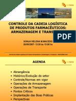 13 30 Sonja Macedo - CONTROLE DA CADEIA LOGÍSTICA DE PRODUTOS FARMACÊUTICOS-RIOPHARMA2007