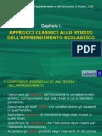 PSICOLOGIA DELL'APPRENDIMENTO_Outline Cap01