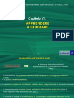 PSICOLOGIA DELL'APPRENDIMENTOOutline Cap07