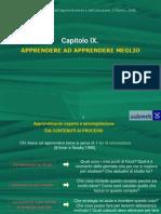 PSICOLOGIA DELL'APPRENDIMENTO_outline cap 9