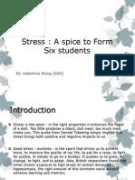 Stress Power Point (Printout)