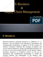 E-Business & Supply Chain Mgt