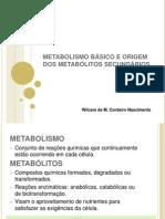 2-Metabolismo Prim. e Sec.