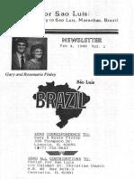 Finley Gary Rosemarie 1988 Brazil