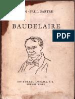 Sartre, Jean-Paul - Baudelaire.pdf