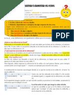 Referencias Relativas y Absolutas en Excel