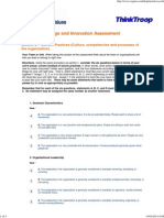 Change and Innovation Assessment2