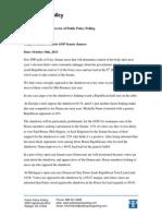 PPP Senate Polls October 2013