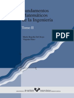 Fundamentos Matematicos de La Ingenieria. Tomo II