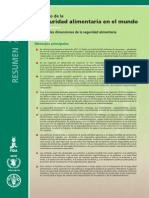 Inseguridad Alimentaria FAO