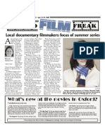 Local  documentary filmmakers focus of summer series