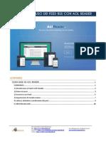 Guida base all'uso dei Feed RSS con AOL Reader