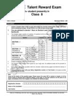 Ftre 2013 Class Viii Paper 2