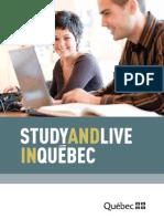 Brochure Study Quebec