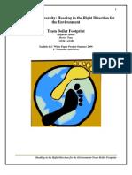Boiler Footprint