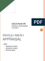 ACCA F9 Lecture 3