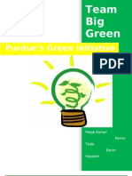 Team Big Green White Paper