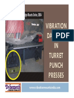 Vibration Damping in Turret Punch Presses