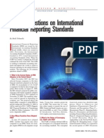 Twenty Questions on International Financial Reporting