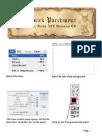 Quick Parchment