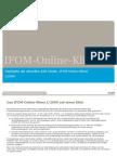 "Highlights der B2B-Studie ""IFOM-Online-Klima"" I/2009"