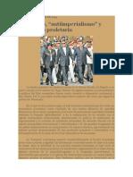 Crítica Marxista Leninista - Populismo y antiimperialismo latinoamericanos