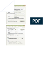 Configuracao SMTP