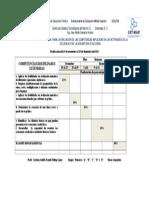 dosificación TERCER PARCIAL 2013