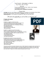 Dead Poets Society Movie Supplement Handout With Worksheets