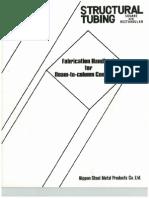 Manual de Fabricacion y Conexion Para Viga-H Estructural a Columna